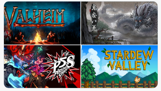 Steam'de haftanın çok satan oyunları:1. Valheim2. Valve Index VR3. Tale of Immortal4. Persona 5: Strikers5. Persona 5: Strikers (Digital Deluxe)6. Stardew Valley7. Outriders (Pre-Order)8. Nioh 29. Baldur's gate 310. CS GO (Broken Fang)