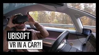 Ubisoft's VR for Renault's Autonomous Car