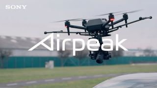 Airpeak | Aerial Shooting of VISION-S Road Test